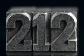 Manhattan, NYC 212 area code